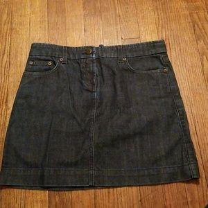 J. Crew jean skirt!